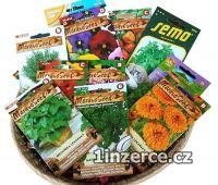 Semínka květin, zeleniny i klí