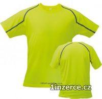 Funkční triko fits limetkové