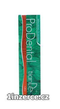 Přírodní zubní pasta bez flour