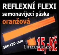 Reflexní pásky samonavíjecí