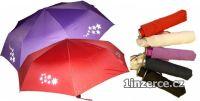 Deštník s reflexníni prvky