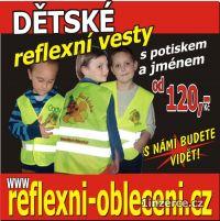 Dětská reflexní vesta