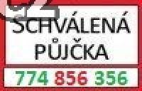 Schválená půjčka  774 856 356