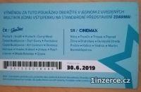 Poukázky do multikina Cinestar