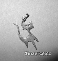 Vesmírná kočka - přívěsek ze s