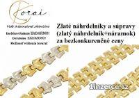 Zlaté náhrdelníky a súpravy