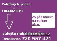 SCHVÁLENÁ PŮJČKA - 720557421