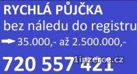 RYCHLÁ PŮJČKA 720557421