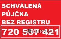 PŮJČKA BEZ REGISTRU 720557421