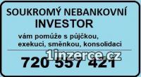 Půjčka na op 250tis 720557421
