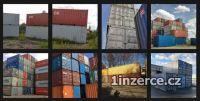 Nabízíme lodní kontejnery