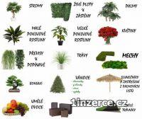Zelené a mechové stěny