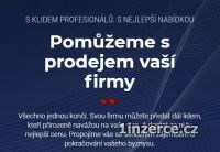 Zajistíme Vám prodej firmy